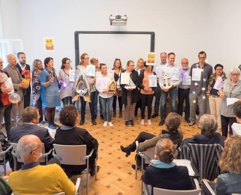 Foto des großen Seminarraums an der Lehranstalt für systemische Familientherapie
