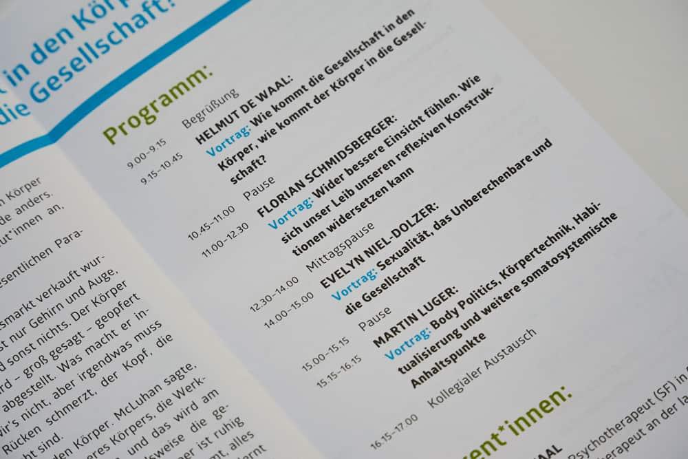 Programm des 41. Systemischen Kaffeehauses am 21. Mai