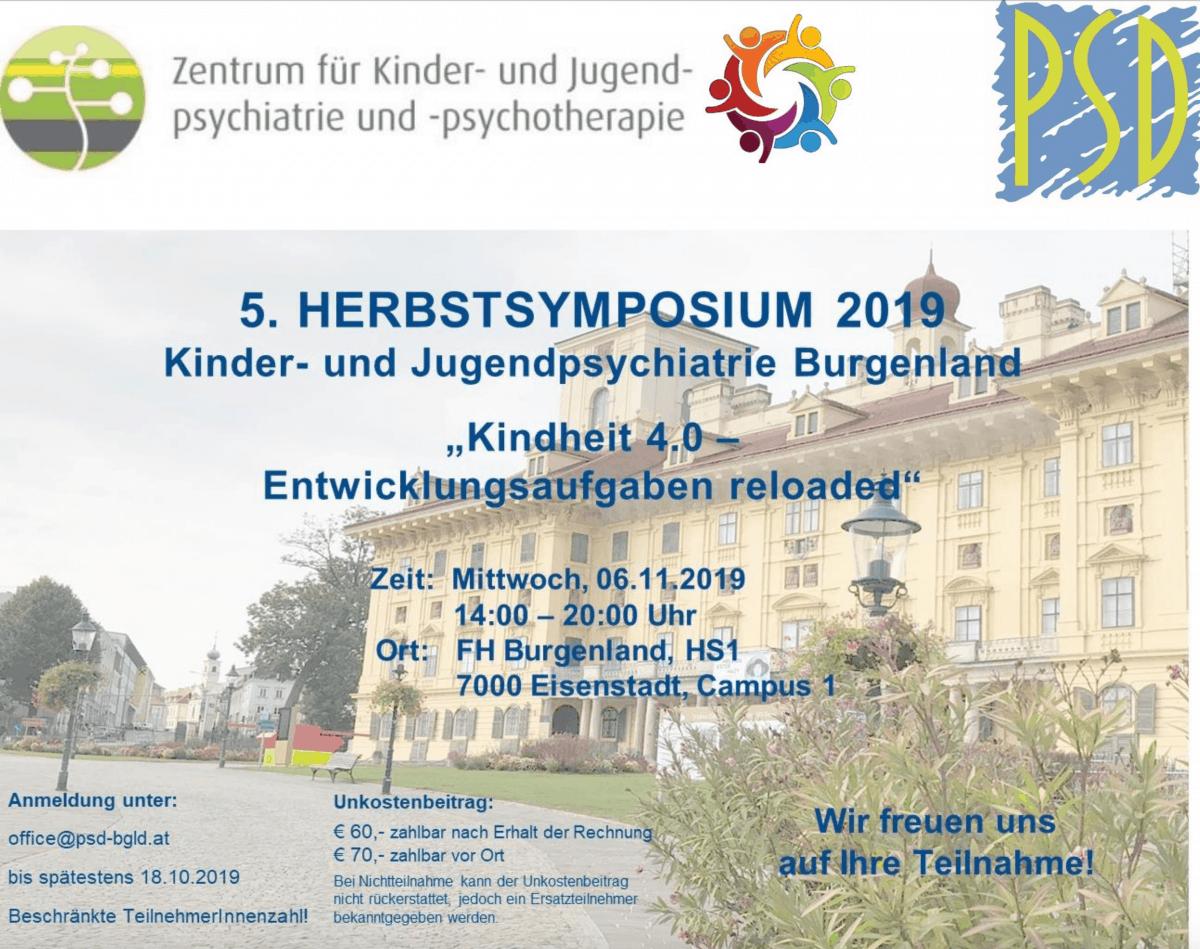 Herbstsymposium PSD Eisenstadt