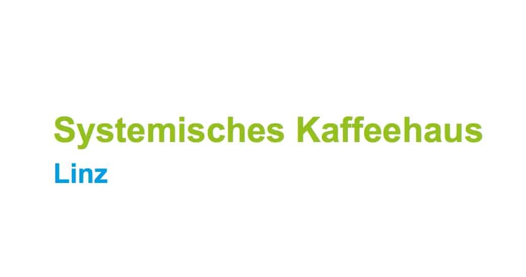 Logo der Fortbildungsveranstaltung Systemisches Kaffeehaus in Linz