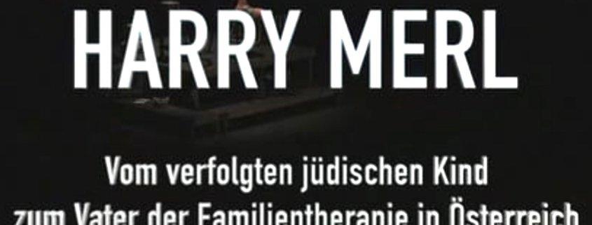 screenshot des Videos von einer Theatervorstellung der Tribüne Linz über Harry Merl